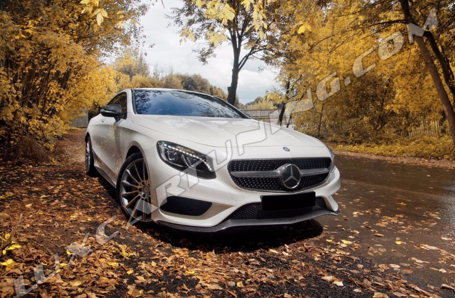 Spare parts and accessories full carbon for Mercedes benz s550 parts and accessories