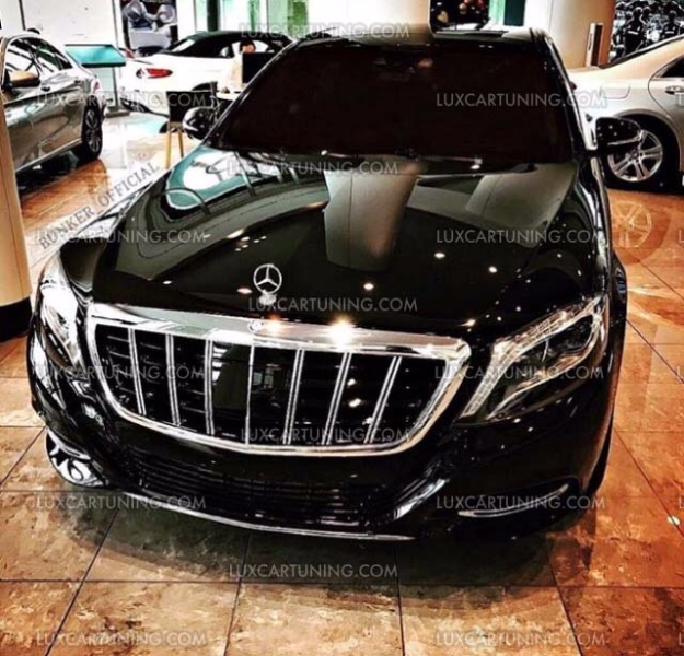 Brabus Maybach Grill Set For