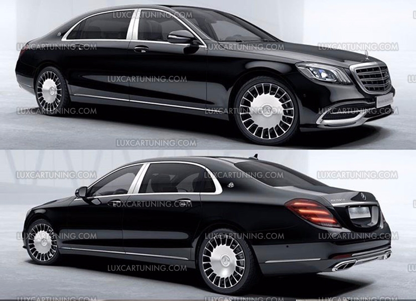 2018 maybach s560. plain maybach luxcartuningcom maybach  exclusive in luxcartuning full upgrade body  kit maybach s560 x222 you can your s class w222 or s600 201316  inside 2018 maybach s560 0