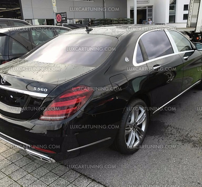 2018 maybach s560. plain maybach luxcartuningcom maybach  exclusive in luxcartuning full upgrade body  kit maybach s560 x222 you can your s class w222 or s600 201316  intended 2018 maybach s560