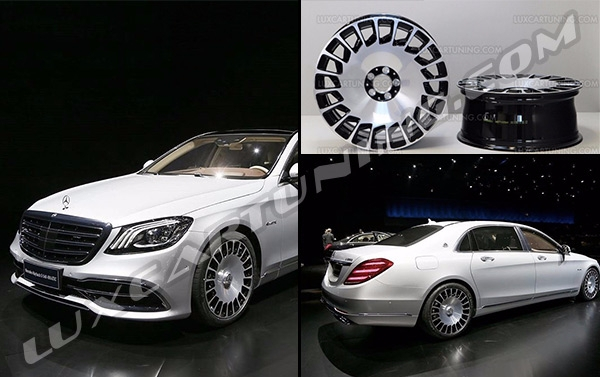 2018 maybach s600. interesting s600 original maybach 2018 r20 wheels for mercedes s class w222 s600  x222 for maybach s600 b
